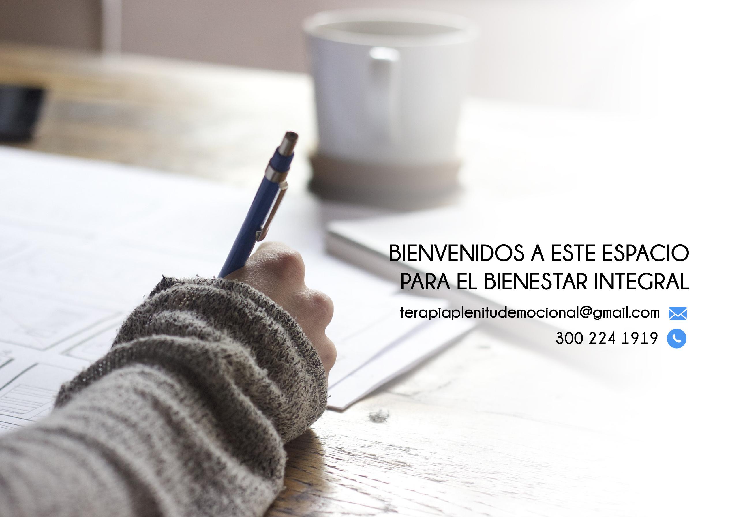 Psicologa de Terapias Psicológicas Bogotá